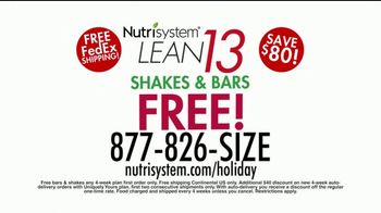 Nutrisystem Lean 13 TV Spot, 'Look Great for the Holidays' Ft. Marie Osmond - 507 commercial airings