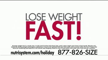 Nutrisystem Lean 13 TV Spot, 'Look Great for the Holidays' Ft. Marie Osmond - Thumbnail 3