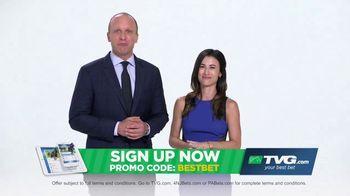TVG.com TV Spot, 'Best Bet' Featuring Britney Eurton, Simon Bray