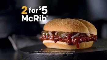 McDonald's McRib TV Spot, 'Answer the Call' - Thumbnail 8