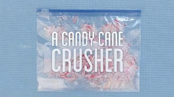 Ziploc Slider Storage Bags TV Spot, 'More Than a Bag: Candy Cane Crusher'
