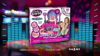 Cra-Z-Art Shimmer'n Sparkle Crazy Lights TV Spot, 'Super Cool Nails' - Thumbnail 8