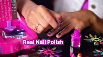 Cra-Z-Art Shimmer'n Sparkle Crazy Lights TV Spot, 'Super Cool Nails' - Thumbnail 5