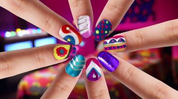 Cra-Z-Art Shimmer'n Sparkle Crazy Lights TV Spot, 'Super Cool Nails'