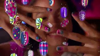 Cra-Z-Art Shimmer'n Sparkle Crazy Lights TV Spot, 'Super Cool Nails' - Thumbnail 7