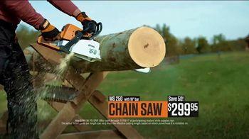 STIHL TV Spot, 'Real People: Chain Saw Savings' - Thumbnail 6