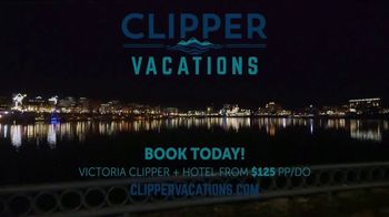Clipper Vacations TV Spot, 'Seattle to Victoria, BC Holiday Getaway' - Thumbnail 9