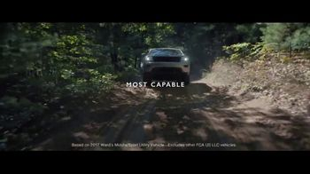 2018 Jeep Grand Cherokee TV Spot, 'The Art of It' [T1] - Thumbnail 8