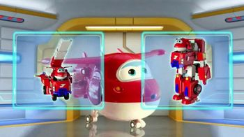 Super Wings Jett's Super Robot Suit TV Spot, 'Transform'