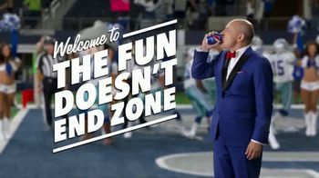 Pepsi TV Spot, 'The Fun Doesn't End Zone: Dallas Cowboys' Ft. Deion Sanders - Thumbnail 10