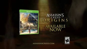 Assassin's Creed: Origins TV Spot, 'The Legend of the Assassin' - 826 commercial airings