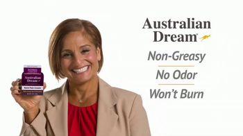 Australian Dream Back Pain Cream TV Spot, 'Relief' Feat. Mary Lou Retton - Thumbnail 4