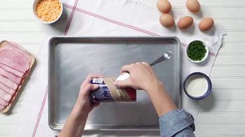 Pillsbury Crescents TV Spot, 'Food Network: Egg-in-a-Hole Biscuits'