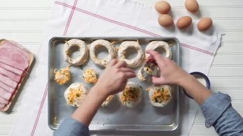Pillsbury Crescents TV Spot, 'Food Network: Egg-in-a-Hole Biscuits' - Thumbnail 6