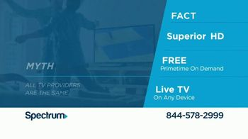 Spectrum TV, Internet and Voice TV Spot, 'All the Facts' - Thumbnail 3