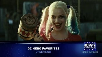 DIRECTV Cinema TV Spot, 'DC Hero Favorites'