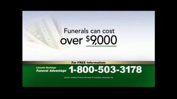 Lincoln Heritage Funeral Advantage TV Spot, 'Helped Thousands'