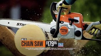 STIHL TV Spot, 'MS 170 Chain Saw and BR 700 Backpack Blower' - Thumbnail 6