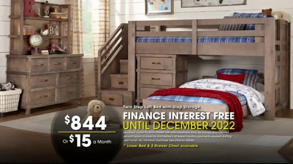 Rooms To Go Beds >> Rooms To Go Holiday Sale Tv Commercial Loft Bed Video