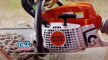 STIHL TV Spot, 'Real People: 'BGA 45 Blower and MS 271 Farm Boss' - Thumbnail 8
