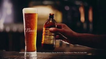 Budweiser 1933 Repeal Reserve Amber Lager TV Spot, 'Introducción' [Spanish] - Thumbnail 10