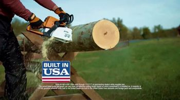 STIHL TV Spot, 'Real People: MS 250 Chain Saw and BR 200 Backpack Blower' - Thumbnail 5