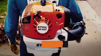 STIHL TV Spot, 'Real People: MS 250 Chain Saw and BR 200 Backpack Blower' - Thumbnail 7