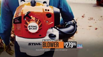 STIHL TV Spot, 'Real People: MS 250 Chain Saw and BR 200 Backpack Blower' - Thumbnail 8
