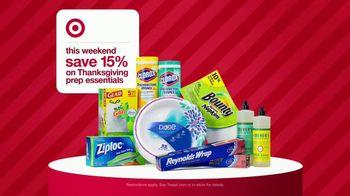 Target Weekend Deals TV Spot, 'Thanksgiving Essentials' - Thumbnail 7