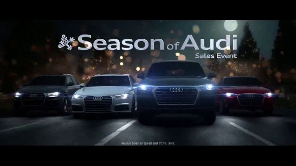 Audi Season Of Audi Sales Event Tv Commercial Holiday