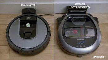 Samsung POWERbot R7070 TV Spot, 'Edge-Cleaning Machine'