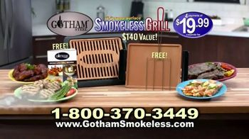 Gotham Smokeless Grill TV Spot, 'Barbecue Inside' - Thumbnail 10