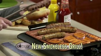 Gotham Smokeless Grill TV Spot, \'Barbecue Inside\'
