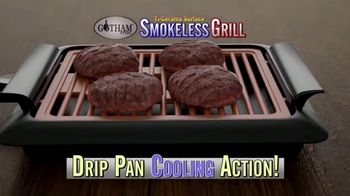Gotham Smokeless Grill TV Spot, 'Barbecue Inside' - Thumbnail 4