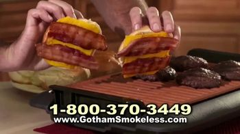 Gotham Smokeless Grill TV Spot, 'Barbecue Inside' - Thumbnail 5