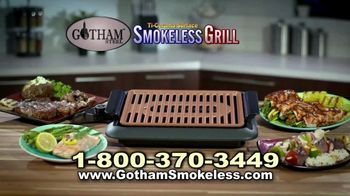 Gotham Smokeless Grill TV Spot, 'Barbecue Inside' - Thumbnail 6