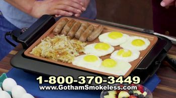 Gotham Smokeless Grill TV Spot, 'Barbecue Inside' - Thumbnail 7