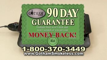 Gotham Smokeless Grill TV Spot, 'Barbecue Inside' - Thumbnail 8