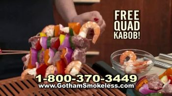 Gotham Smokeless Grill TV Spot, 'Barbecue Inside' - Thumbnail 9