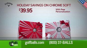 Golfballs.com Holiday Savings TV Spot, 'Chrome Soft' - Thumbnail 2