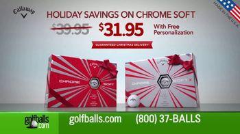 Golfballs.com Holiday Savings TV Spot, 'Chrome Soft' - Thumbnail 3