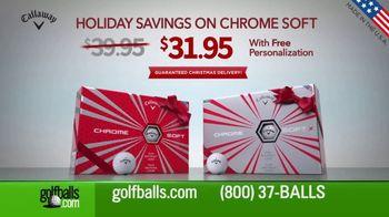 Golfballs.com Holiday Savings TV Spot, 'Chrome Soft' - Thumbnail 7