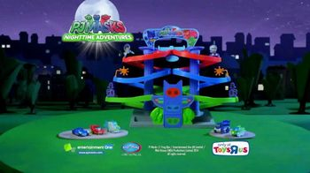 PJ Masks Nighttime Adventures Die Cast Spiral Playset TV Spot, 'Showdown'