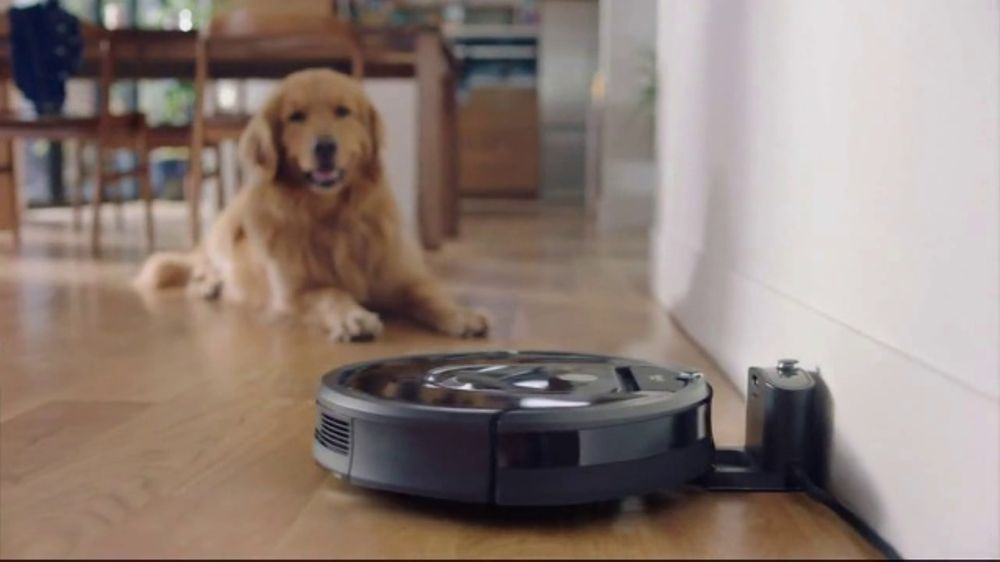 Fine Irobot Roomba 980 Vacuuming Robot Tv Commercial A Day In The Life Video Download Free Architecture Designs Scobabritishbridgeorg