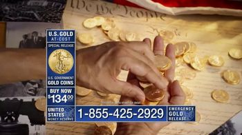 U.S. Money Reserve TV Spot, 'Former Mint Director on Physical Gold' - 6 commercial airings