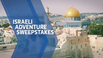 Travel Channel Israeli Adventure Sweepstakes TV Spot, 'Trip for Two'