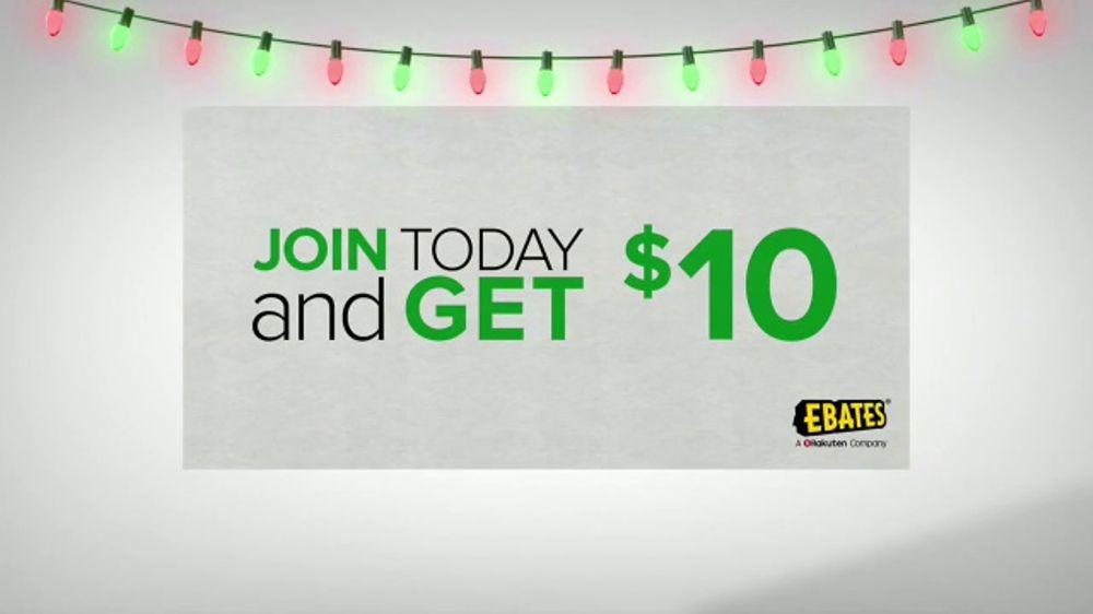 Ebates Tv Commercial A Very Merry Ebates Testimonial