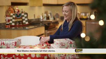 Ebates TV Spot, 'A Very Merry Ebates Testimonial'