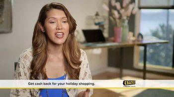 Ebates TV Spot, 'A Very Merry Ebates Testimonial' - Thumbnail 3