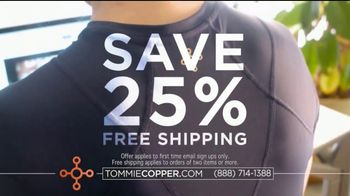 Tommie Copper Shoulder Centric Support Shirt TV Spot, 'Feel Better' - Thumbnail 7